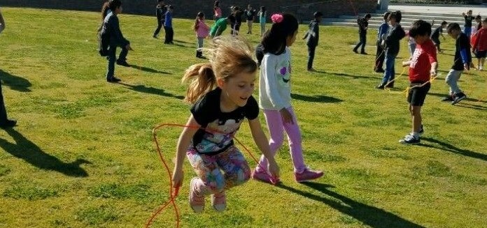 Oraze jump rope for heart